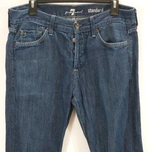 Seven7 For All Mankind Mens Jeans 32 X 28 Standard